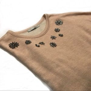 Blush Crystal Sweater